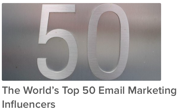 Top 50 Email Marketers