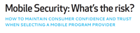Mobile Security: What's the Risk?